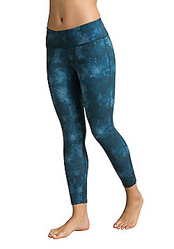 Zakti Patterned 7/8 Leggings - Green