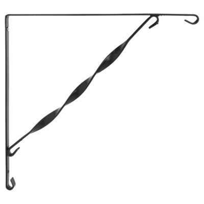 Dobbies Hanging Basket Bracket, 35 cm