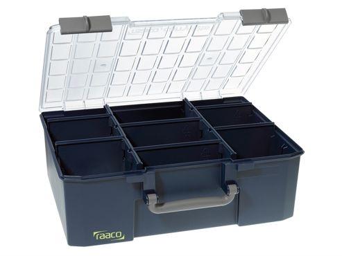 Raaco CarryLite Organiser Case 150-9 9 Dividers