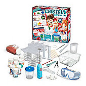 Crystal Lab And 25 Experiments Childrens Science Experiments White - BUKI