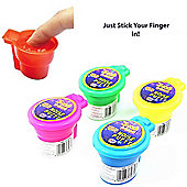 6 x Toilet Whoopee Putty - Noisy TRUMP FART Gag Joke Party Bag Filler