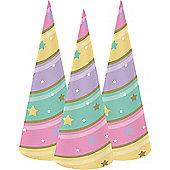 Unicorn Sparkle Horn Cone Hats