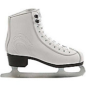 Lake Placid Firecat Womens Figure Ice Skates - White