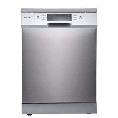 electriQ 15 Place Freestanding Dishwasher - Stainless Steel