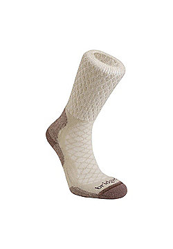 Bridgedale Ladies Merino Fusion Trail Sock - Beige