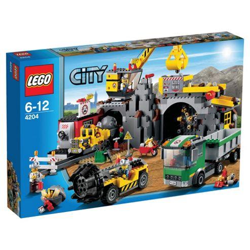 LEGO City Mining The Mine 4204
