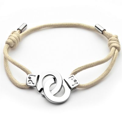 i.d x-change Cuffs of Love Bracelet - Beige XS