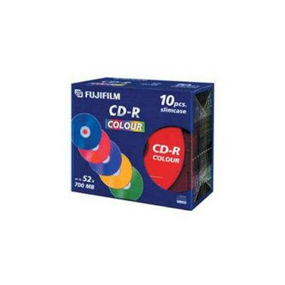 Fujifilm CD-R 700MB 52X Jewel Cases (10 Pack)