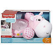 Fisher Price Hippo Snuggle Projection Soother Pink