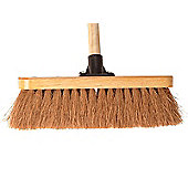 Faithfull Broom Coco 30cm (12in) Head with 48in Handle