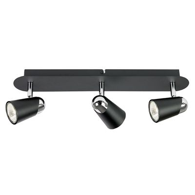 Civic 3 Light Bar 50W Spotlight Matte Black Paint