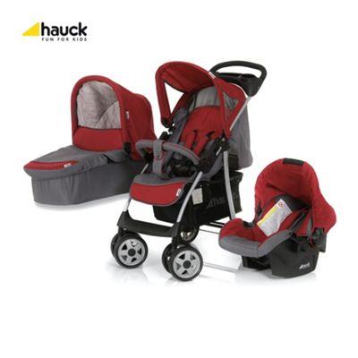 Hauck Shopper Trio Travel System, Smoke/Tango