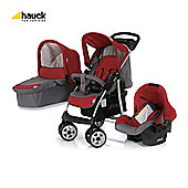 Hauck Shopper Trio Travel System, Smoke/Tango