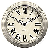 Jones & Co Small Savoy Clock