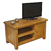 Tucan Rustic Small Oak TV Unit / Oak TV Stand