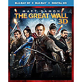 The Great Wall 2D & 3D Blu-ray