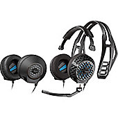 Plantronics RIG 500E Wired 40 mm Headset - Over-the-head - Circumaural - Black