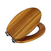 family toilet seat wood. Norfolk Antique Pine Soft Close Moisture Resistant Wood Toilet Seat Chrome  Hinges Seats Wooden Tesco