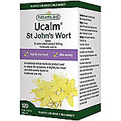 Natures Aid Ucalm 300mg (St John's Wort) - 120 Tablets