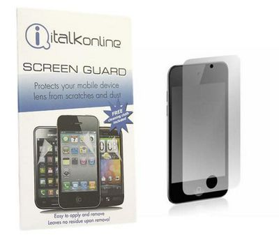 iTALKonline S-Protect LCD Screen Protector and Micro Fibre Cleaning Cloth - For iPod Touch 4G