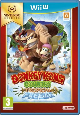 Wii U Donkey Kong Country: Tropical Freeze Select