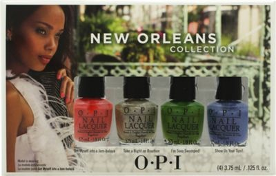 OPI New Orleans Mini Gift Set 4 x 3.75ml Nail Polish