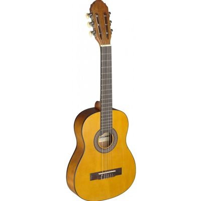 Stagg C405 1/4 Size Classical Guitar - Natural - with 6 Months Free Online Lessons