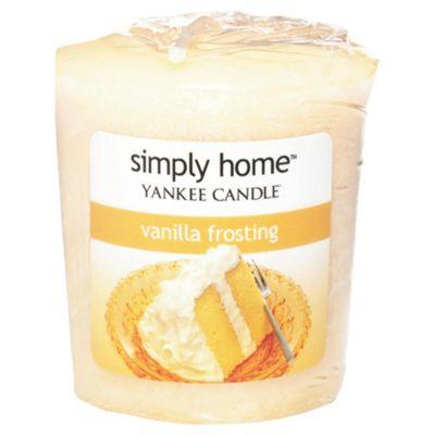Yankee Candle Votive Vanilla Frosting