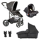 Cupla Travel System - Black