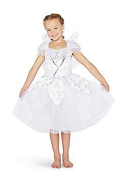 F&F Snow Fairy Christmas Costume - White
