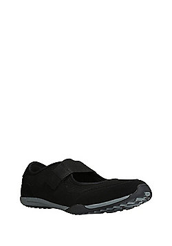 F&F Active Riptape Bar Trainers - Black