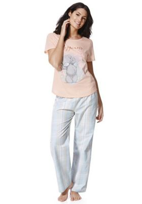 Me To You Tatty Teddy Happiness Slogan Pyjamas 8-10 Multi