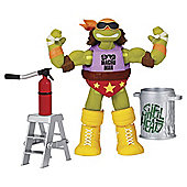 Teenage Mutant Ninja Turtles WWE Action Figures Michelangelo As Macho Man