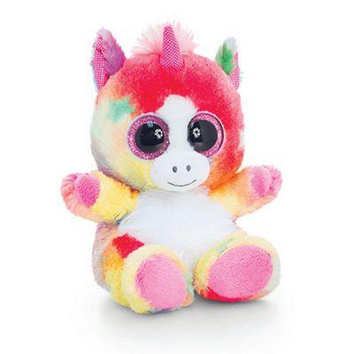 Animotsu Unicorn Soft Toy - Rainbow