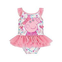 Peppa Pig Newborns Tutu Swimsuit Size 9 12 Months