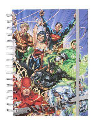 Justice League of America Justice League United Notebook, Blue