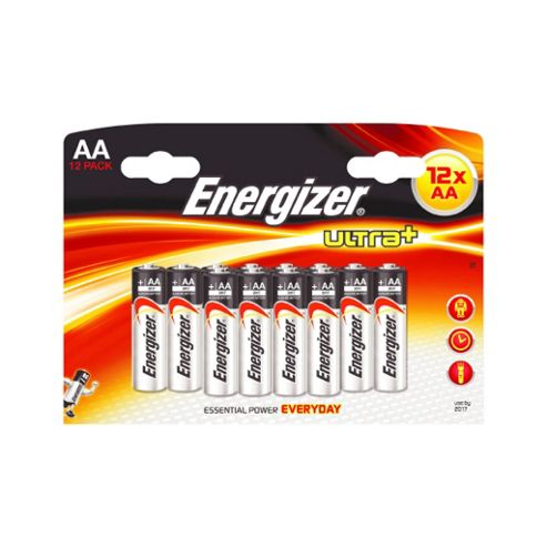 Energizer Ultra+ AA Batteries 12 Pack