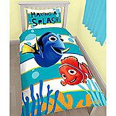 Finding Nemo Dory Single Panel Duvet Cover and Pillowcase Set