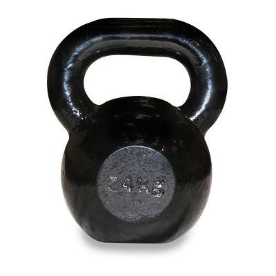 Body Power 24Kg Cast Iron Kettle Bell (x1)