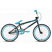 "Rooster XR5 20"" Blue Alloy Wheel BMX Bike Grey"