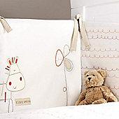 Bed-e-ByesZippy Zebra Bumper