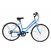 "Professional Commuter Womens 16"" Frame 6 Speed Bike Blue 700c"