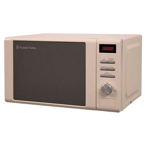 Russell Hobbs RHM2064C Solo Microwave, 20L - Cream