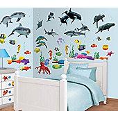Walltastic Sea Adventure Room Decor Kit - 108 Stickers
