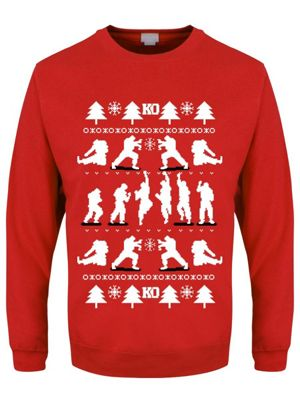 KO Men's Red Christmas Jumper