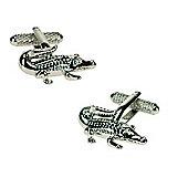 Aligator Novelty Themed Cufflinks