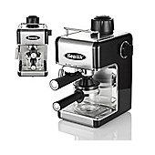 Sentik Professional Espresso Cappuccino Coffee Maker Machine (Black)