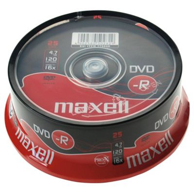 Maxell DVD-R spindle - pack of 25