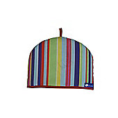 Rushbrookes Reversible Tea Cosy with Barcode Bright and Plain Blue designs, 4 Cup 16161807