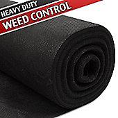 25m x 1m Weed Control Fabric (Heavy Duty)